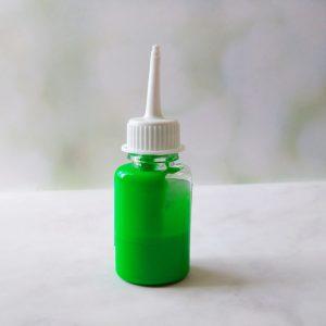 неоновый пигмент зеленый 10гр