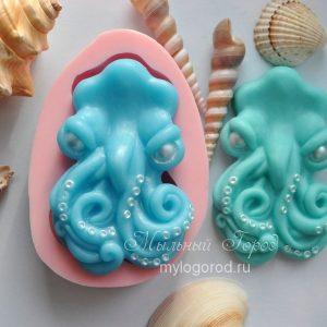 форма для мыла кракен осминог