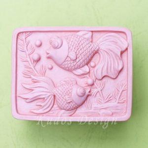 форма для мыла рыбки