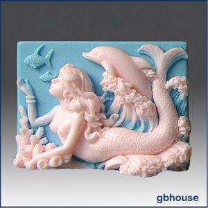форма для мыла русалка