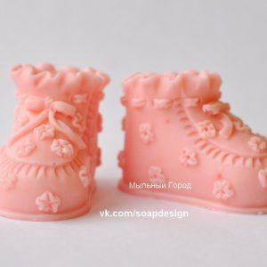 силиконовая форма ботиночки