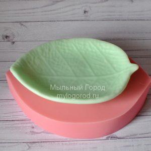 форма для мыла тарелочка