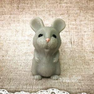форма для мыла и свечей мышка