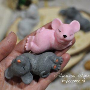 форма для мыла мышонок