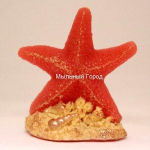 форма для мыла и свечей морская звезда