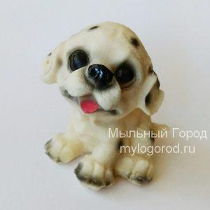 форма для мыла и свечей щенок далматина