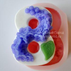 форма для мыла восьмерка