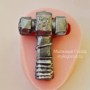 форма для мыла молот тора