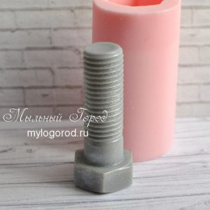 форма для мыла болт