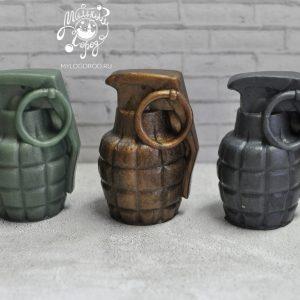 силиконовая форма для мыла граната