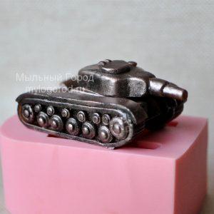 силиконовая форма танк