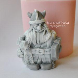 форма для мыла викинг