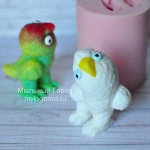 форма для мыла и свечей попугай