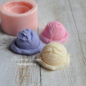 форма для мыла шарик мороженого