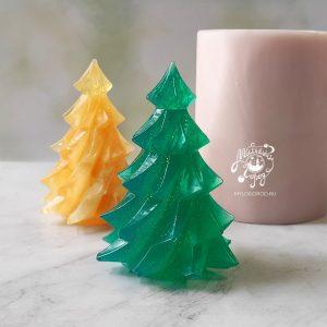 форма для мыла граненая елка
