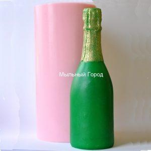 форма для мыла и свечей шампанское