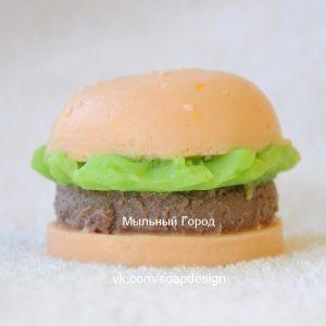 форма для мыла гамбургер