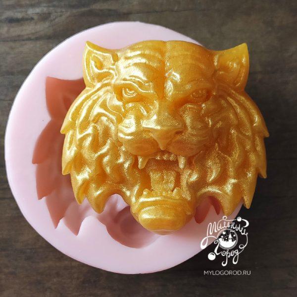 силиконовая форма тигр