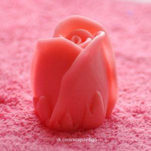 форма для мыла бутон розы