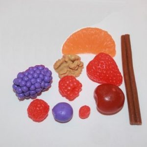 форма для мыла ягоды