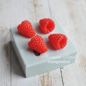 форма для мыла малина