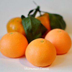 форма для мыла мандарин