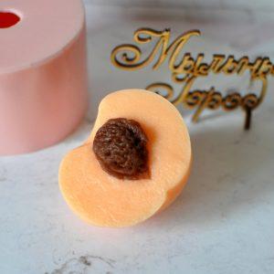 форма для мыла персик