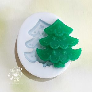 форма для мыла елочка