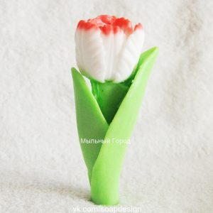 форма для мыла тюльпан